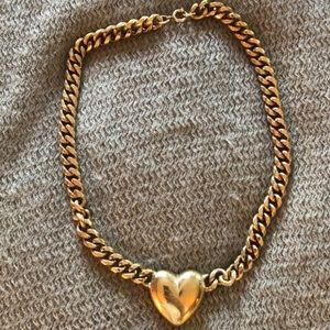 Jewelry - Chunky Gold Pendant Necklace
